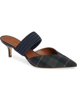 Maisie Plaid Banded Mule by Nordstrom