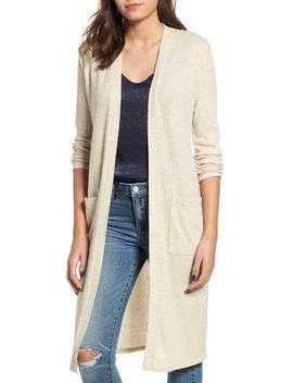 Waffle Knit Duster Cardigan by Nordstrom