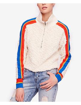 Fuzzy Striped Sweater by Free People