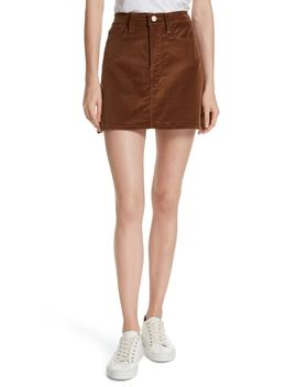 Le Mini Corduroy Skirt by Nordstrom