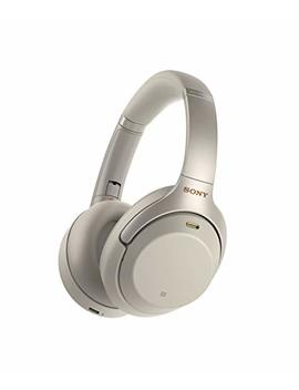 Sony Wh1000 Xm3 Wireless Industry Leading Noise Canceling Over Ear Headphones, Silver (Wh 1000 Xm3/S) by Sony
