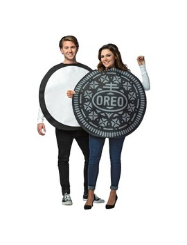 Oreo Cookie Adult Couples Costume by Rasta Imposta
