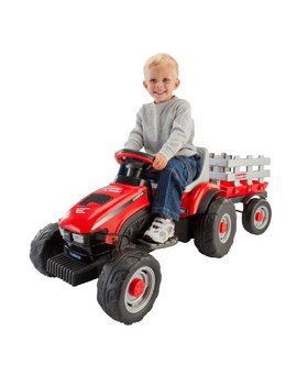 Peg Perego Case Ih Little Tractor And Trailer by Peg Perego