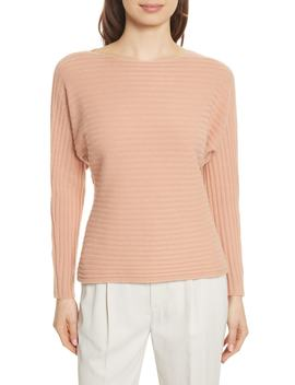Tie Back Wool & Cashmere Sweater by Vince