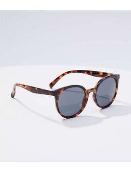 modern-round-sunglasses by loft