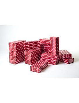 Mondo Bloxx 20 Pack Cardboard Block Brick Set (12x6x3) Usa Made! by Mondo Bloxx