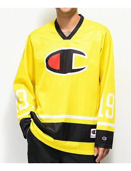 Champion Green Tart Long Sleeve Hockey Jersey by Champion