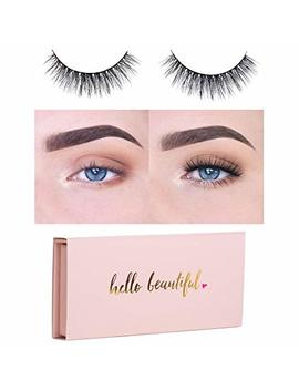 Icona Lashes Premium Quality False Eyelashes | Love Story | Fluffy And Universal For All Eyes | Non Magnetic | Natural Look And Feel | Reusable | 100 Percents Handmade &... by Icona Lashes