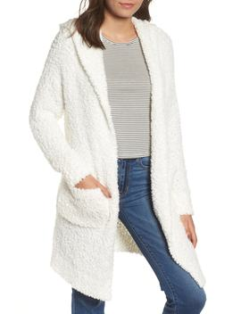 Plush Hooded Cardigan by Nordstrom