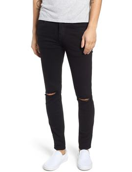 Snap Skinny Fit Jeans by Nordstrom