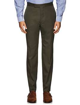 Cotton Twill Trousers by Officine Generale