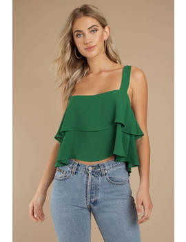 Party Favor Green Tier Top by Tobi