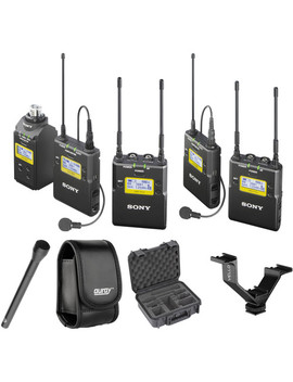 Uwp D16 Uhf Dual Wireless Eng Basic Kit (Ch 14/25: 470 To 542 M Hz) by Sony