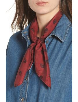 Printed Silk Square Scarf by Nordstrom