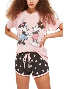 Minnie & Mickey Short Pajamas by Nordstrom