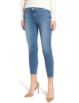 Transcend Vintage   Hoxton High Waist Crop Ultra Skinny Jeans by Nordstrom