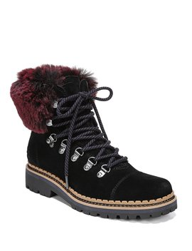 Bowen Faux Fur Hiker Booties by Sam Edelman