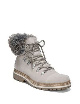 Bowen Bistro Suede & Faux Fur Hiking Boots by Sam Edelman