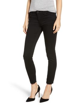 Hudson Tally Raw Hem Crop Skinny Jeans by Nordstrom