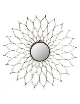 Flower Sunburst Mirror   35 W X 35 H In. by Safavieh