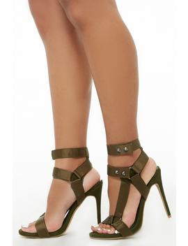 Shoe Republic Strappy High Heel Sandals by Forever 21