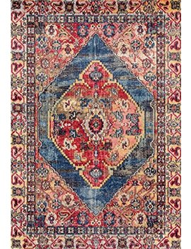 Lux Weavers 6532 Multi Colored Oriental 5 X 7 Area Rug Carpet Large New by Persian Rugs