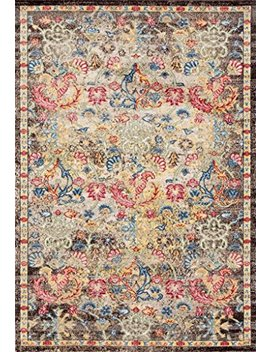 Lux Weavers 2955 Multi Colored Oriental 5 X 7 Area Rug Carpet Large New by Persian Rugs