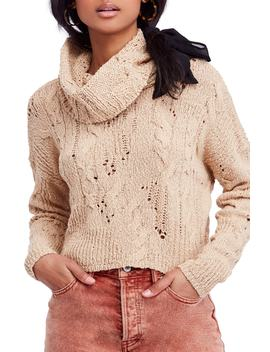 Shades Of Dawn Crop Sweater by Nordstrom