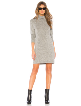 Kole Turtle Neck Dress by La Made