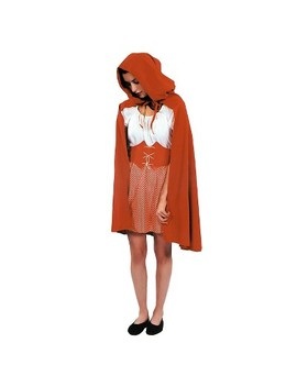 Red Riding Hood Cape Red   One Size Fits Most by Chainhub Industrial