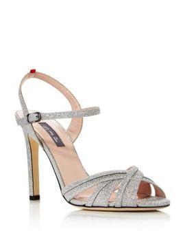 Women's Cadence Glitter High Heel Sandals by Sjp By Sarah Jessica Parker