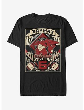 Disney Big Hero 6 Baymax Poster T Shirt by Hot Topic