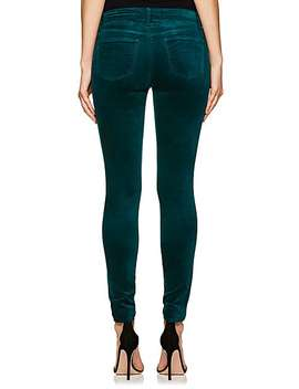 815 Velour Super Skinny Jeans by J Brand