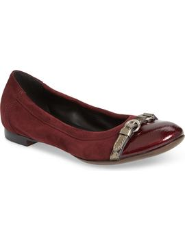 Cap Toe Ballet Flat by Nordstrom