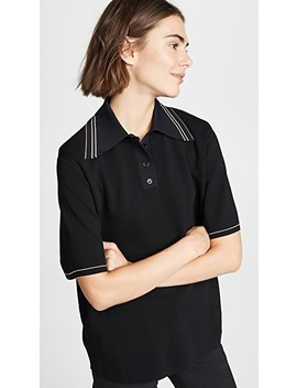 short-sleeve-polo-shirt by helmut-lang