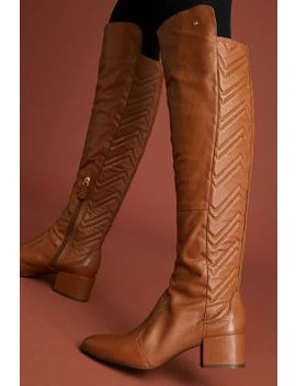 Raphaella Booz Leather Over The Knee Boots by Raphaella Booz