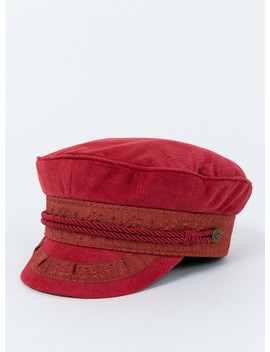 Brixton Albany Cap Burnt Orange by Brixton