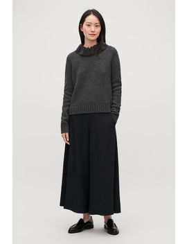 Removable Collar Wool Jumper by Cos