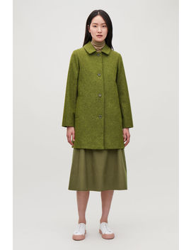 Straight Wool Coat by Cos