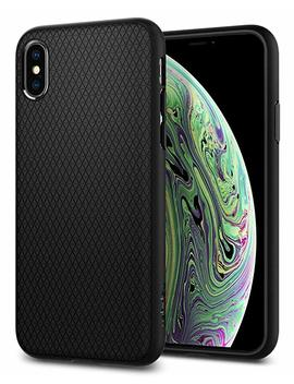 Spigen Liquid Air Armor Designed For Apple I Phone Xs Case (2018) / Designed For Apple I Phone X Case (2017)   Matte Black by Spigen
