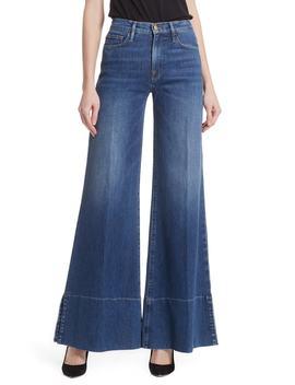 Le Palazzo Split Hem Jeans by Nordstrom