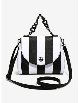 Loungefly The Nightmare Before Christmas Stripe Crossbody Bag by Hot Topic