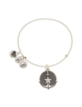 Anchor Ii Expandable Wire Charm Bracelet by Alex And Ani