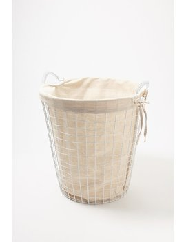 Wire Laundry Hamper by Urban Planet