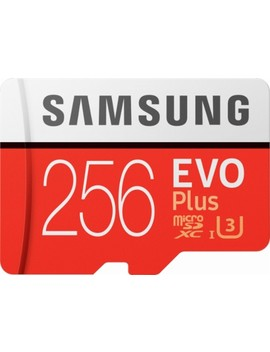 Evo Plus 256 Gb Micro Sdxc Uhs I Memory Card by Samsung