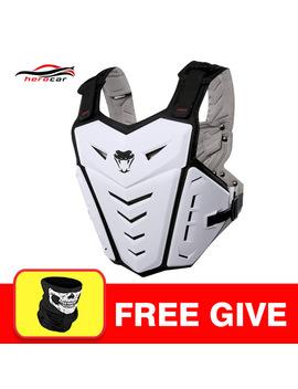 Herobiker Sepeda Motor Jakcet Tubuh Armor Motor Siku & Lutut Bantalan Gugatan Moto Motocross Rompi Pelindung Aksesoris Set by Ali Express