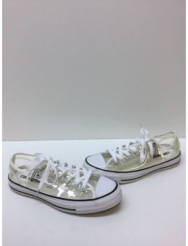 Converse All Star Clear Plastic Lace Up Unisex Shoes Men's Size 6  Women's 8 by Ebay Seller