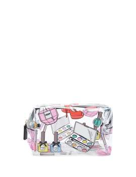 Graphic Clear Makeup Bag by Forever 21