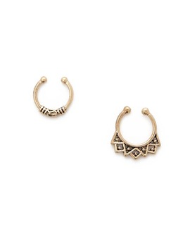 Etched Nose Ring Set by Forever 21