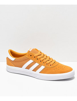 adidas-lucas-premiere-adv-tactile-yellow-&-white-shoes by adidas